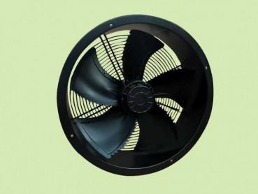 窄筒式耐高温外转子风机